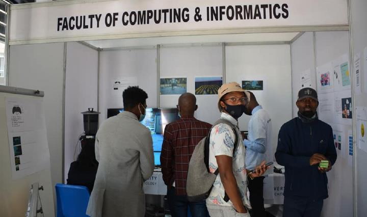 The Faculty of Computing and Informatics walked away with the Tech Gamer Award for entertaining the most staff and students at their stand, by offering a variety of tech-savvy games.