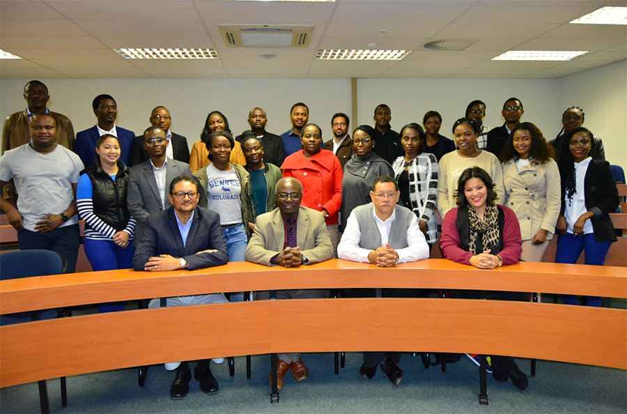 new mba students welcomed namibia university of science and technology
