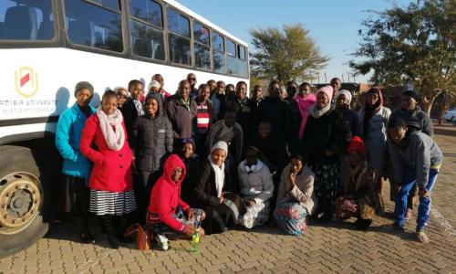 2019 DLCF REPRESENTATIVES AT SADC LEADERSHIP (MINISTERIAL) TRAINING IN SOUTH AFRICA – SUPPORTED BY NUST DIRECTORATE OF STUDENTS AFFAIRS
